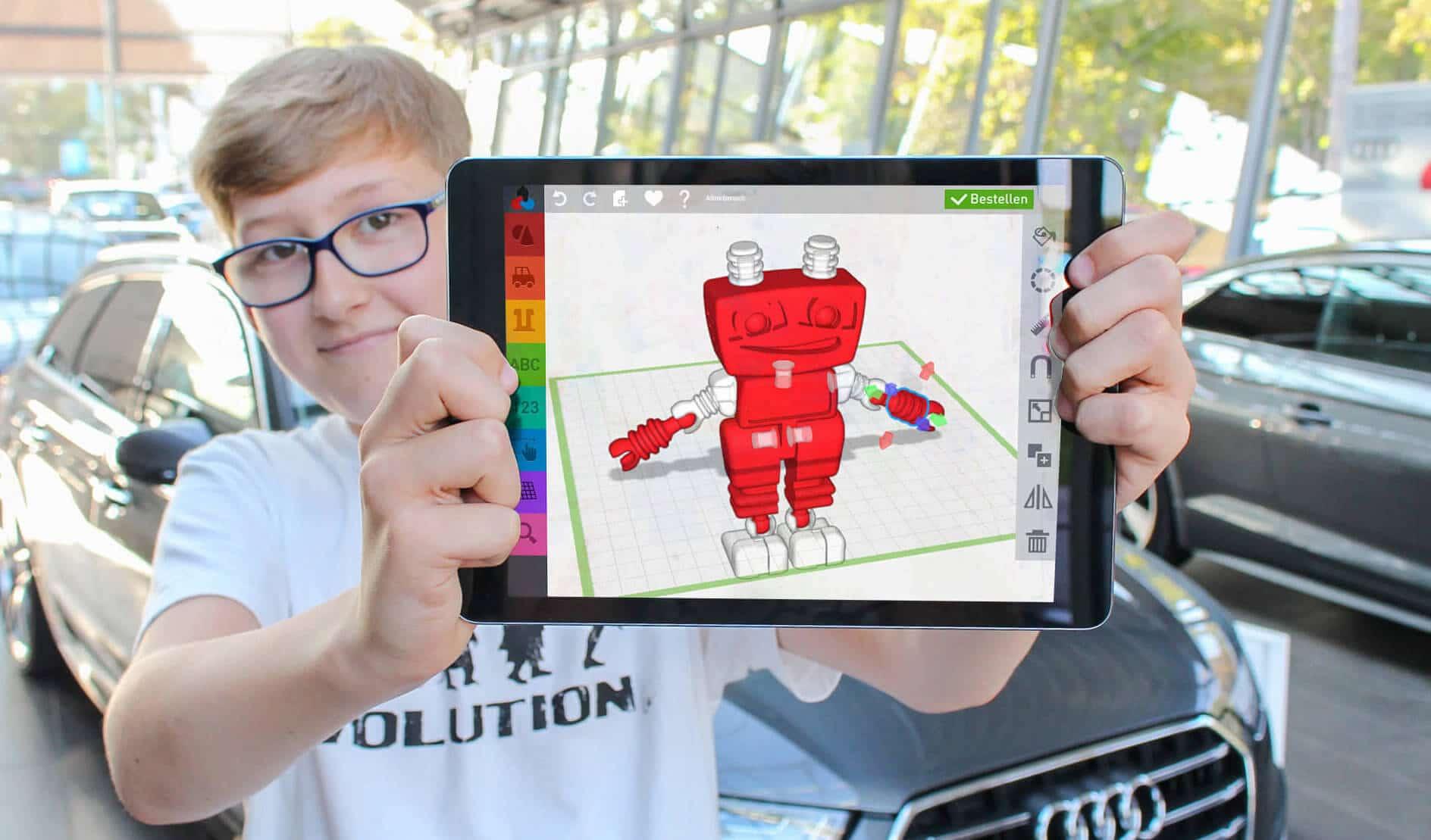 innovative Kinderbeschäftigung in Ihrem Autohaus