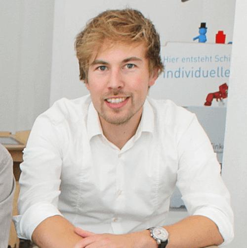 TinkerToys-Geschäftsführer Sebastian Friedrich