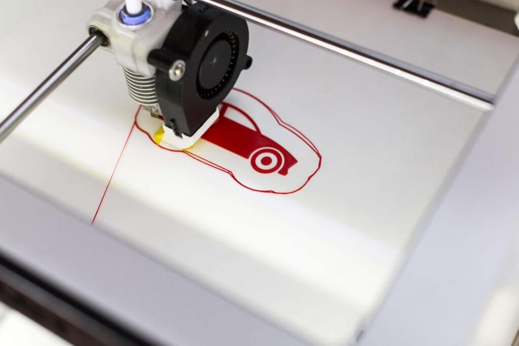 Produktion in Deutschland mittels 3D-Druck.