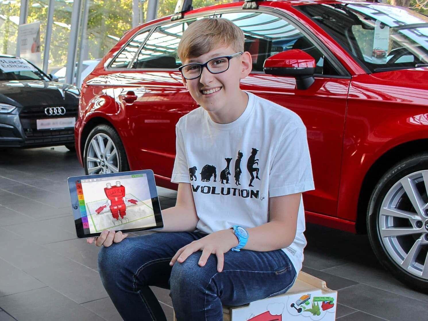 TinkerToys - innovative Kinderbeschäftigung im Autohaus