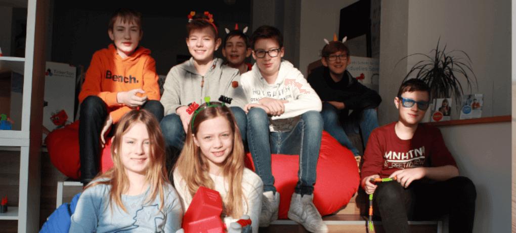 Während des Projekts drehen die Kinder ihren eigenen Stopptrickfilm