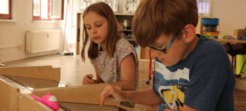 Kinder kreieren ihre eigenen Filmhelden am Touchscreen