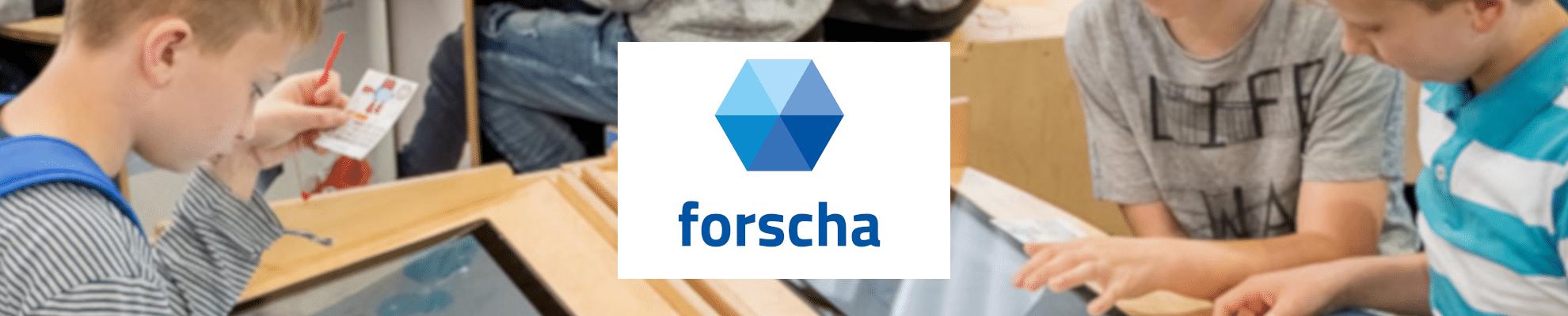 3D Konstruktion und 3D Druck für Kinder auf der FORSCHA in München