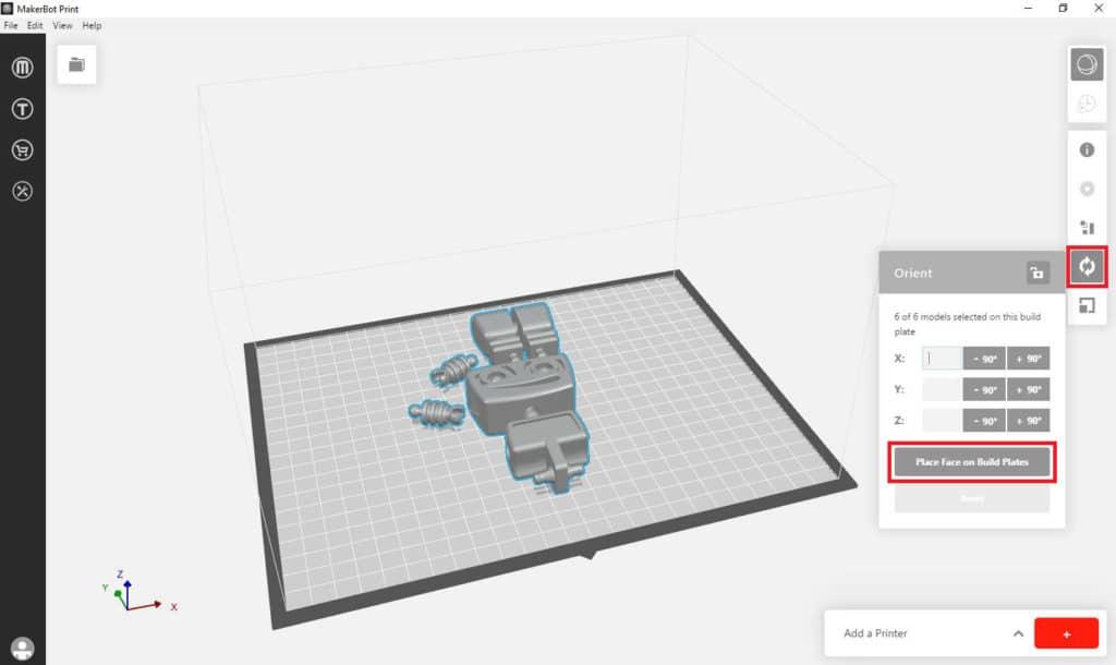 So funktioniert TinkerSchool für MakerBot 3D Drucker in der Schule - Schritt 6
