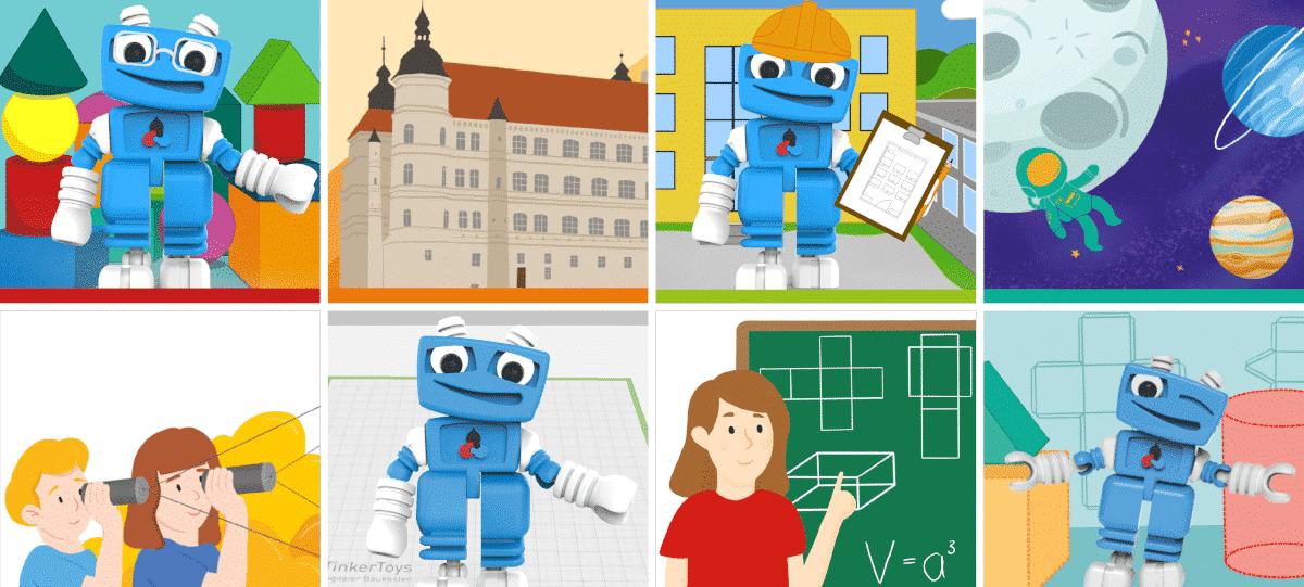 Neues Unterrichtsmaterial für 3D-Konstruktion und 3D-Druck in der Schule