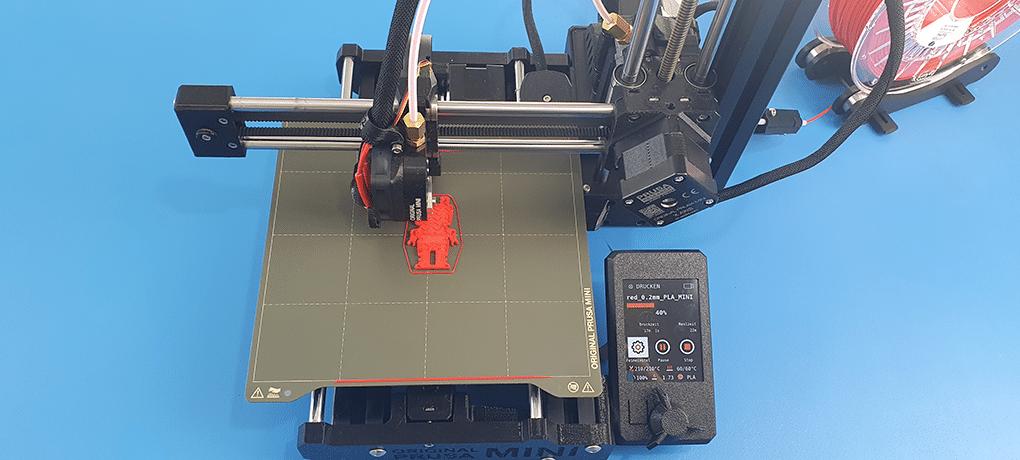 3D-Druck mit dem Prusa Mini in der Schule