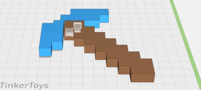 Neues Video-Tutorial: Minecraft Spitzhacke